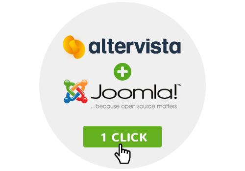 Free Joomla! hosting, one click installer