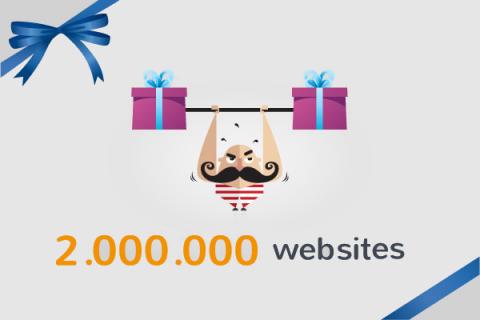 2 milion websites