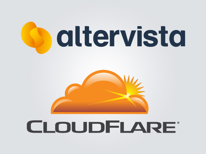 Altervista and Cloudflare for smart websites