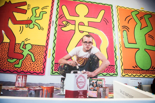 'Keith Haring' Exhibition Preview At Le Musee D'Art Moderne In Paris