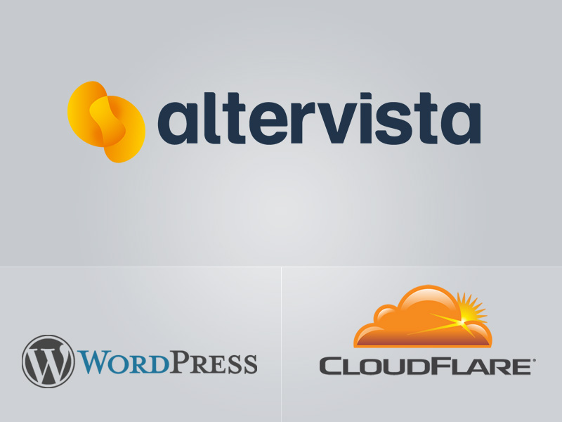 Altervista uses CloudFlare to improve its WordPress blogs performance