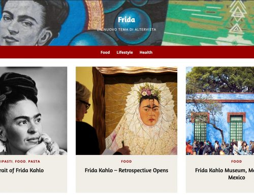 Frida, our new graphic theme